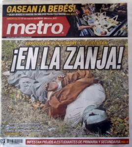 Diario Metro del 17 de marzo
